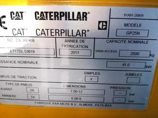 Четырехопорные погрузчики Caterpillar GP25N - 3